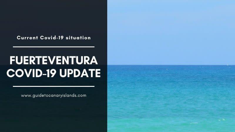 coronavirus fuerteventura situation update