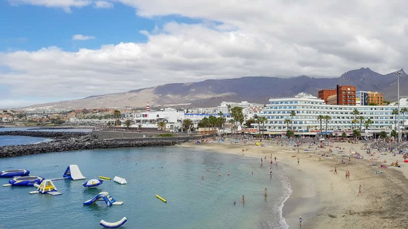 Puerto colon tenerife canary islands