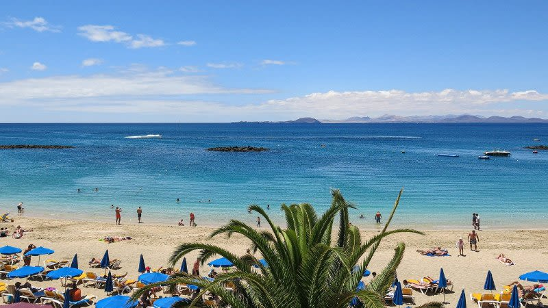 canary islands july weather summer