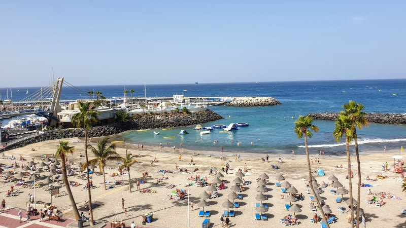 warmest canary island winter