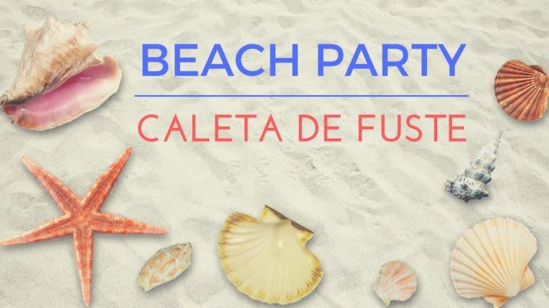 Beach party caleta de fuste
