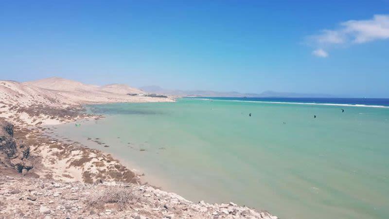 sotavento lagoon fuerteventura