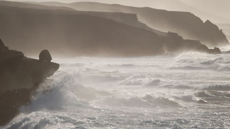 Fuerteventura canary islands waves