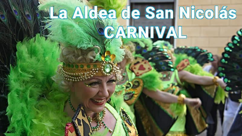aldea de san nicolas carnival