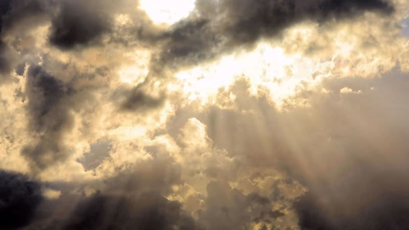 Gran canaria cloudy