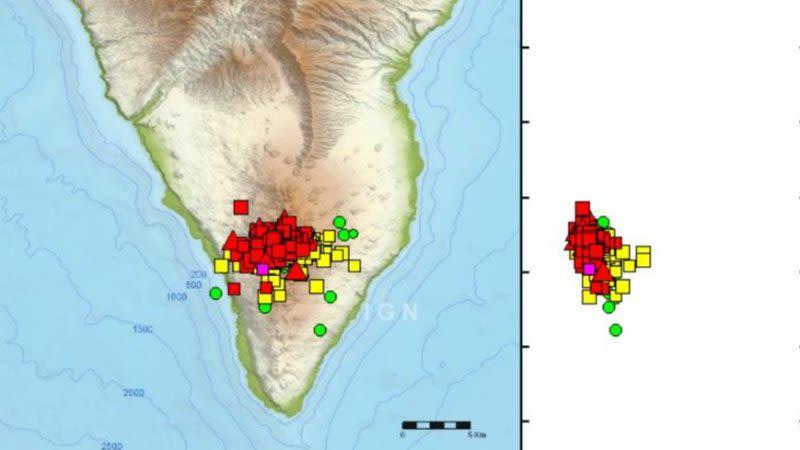 la palma seismic activity 2021 volcano risk