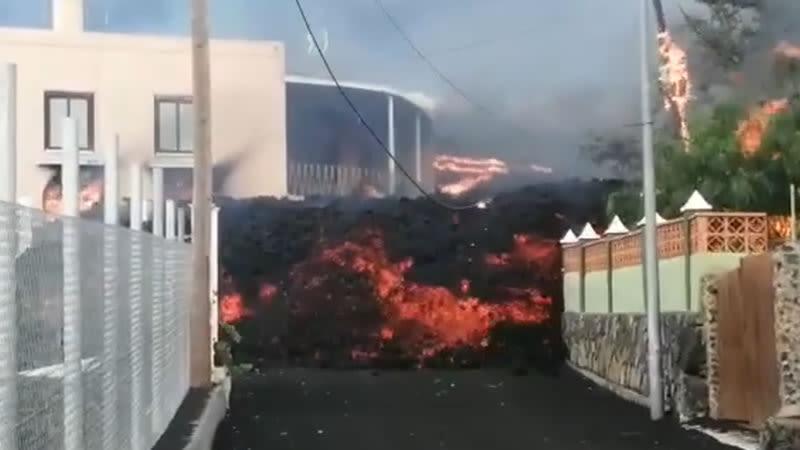lava la palma volcano