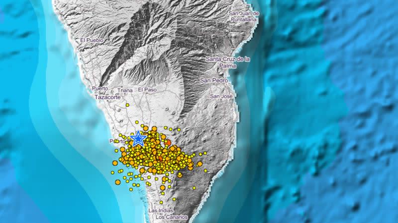 volcanic activity la palma 2021 canary islands