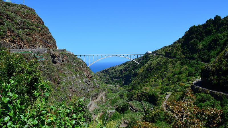 la palma bridge los tilos