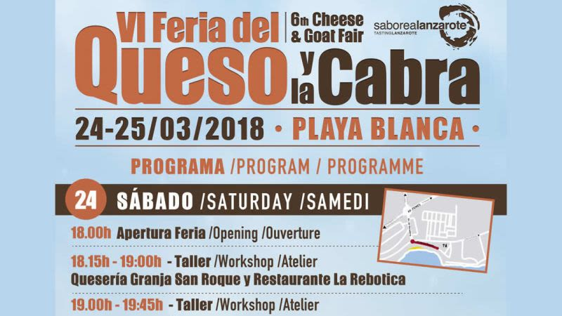 Festival cheese goat lanzarote playa blanca