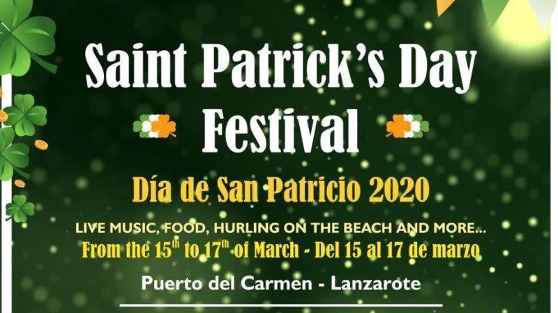lanzarote patricks day 2020 puerto del carmen