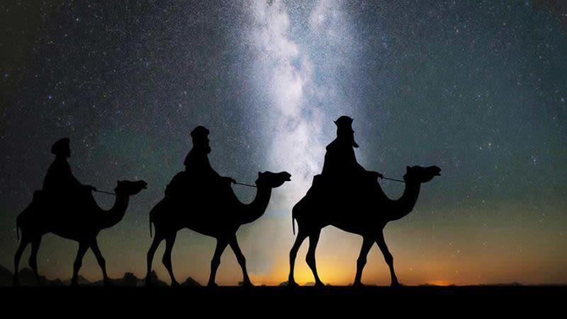 Three kings parade lanzarote