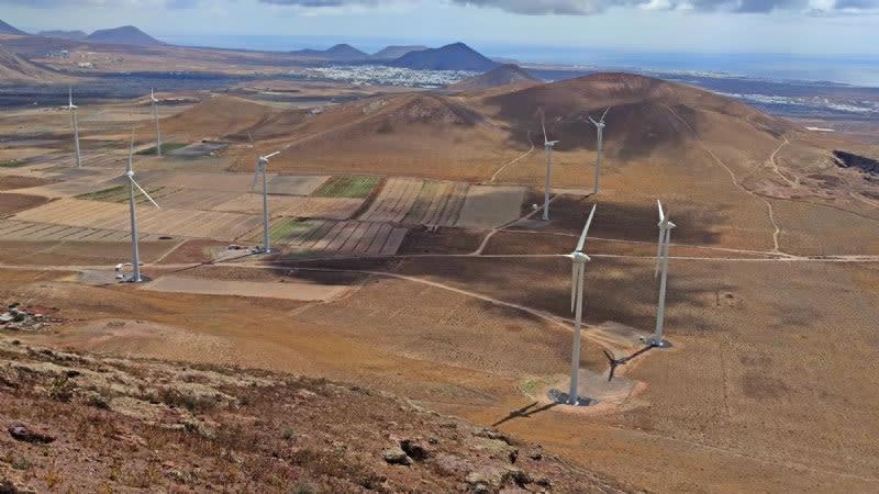 arrecife wind farm lanzarote
