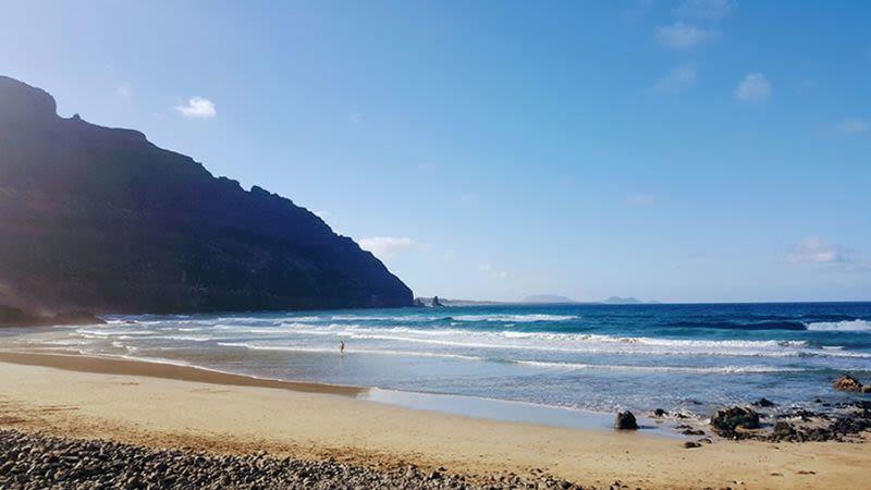 Playa de orzola lanzarote