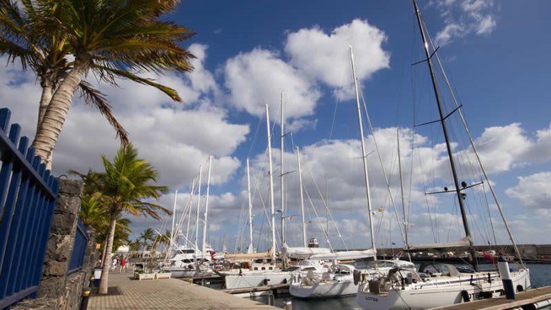 Puerto del carmen to puerto calero walk lanzarote