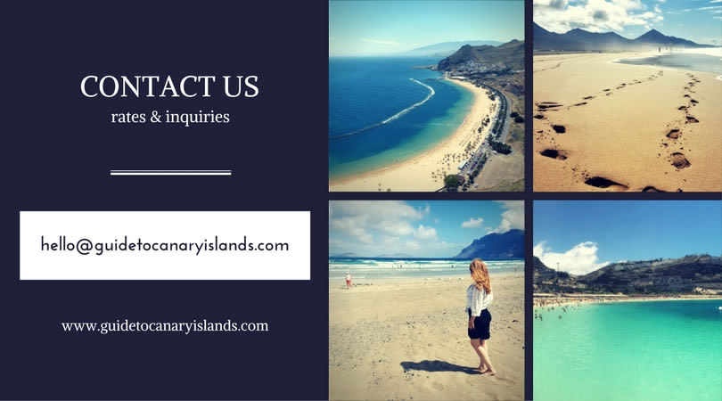 contact us guide to canary islands