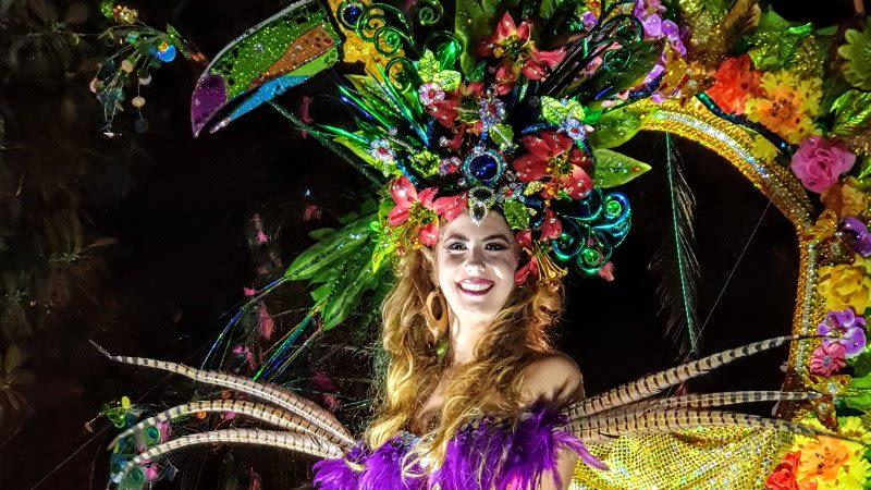 los cristianos carnival  arona