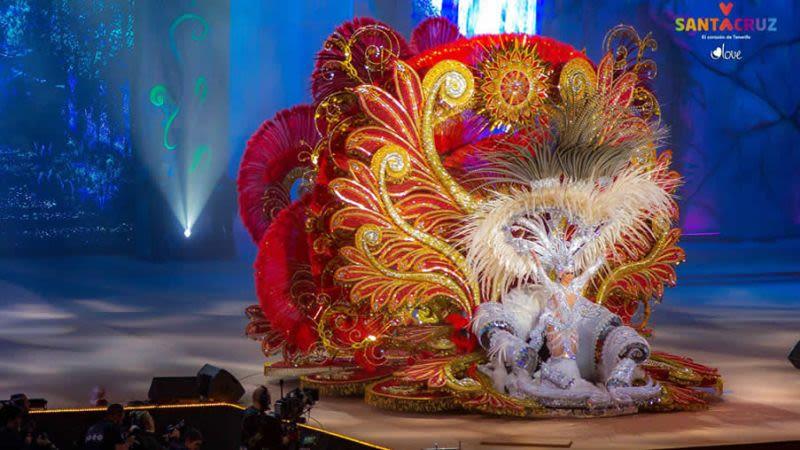 Santa cruz tenerife carnival queen