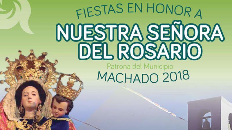 Fiesta en honor a nuestra senora del rosario tenerife  spain