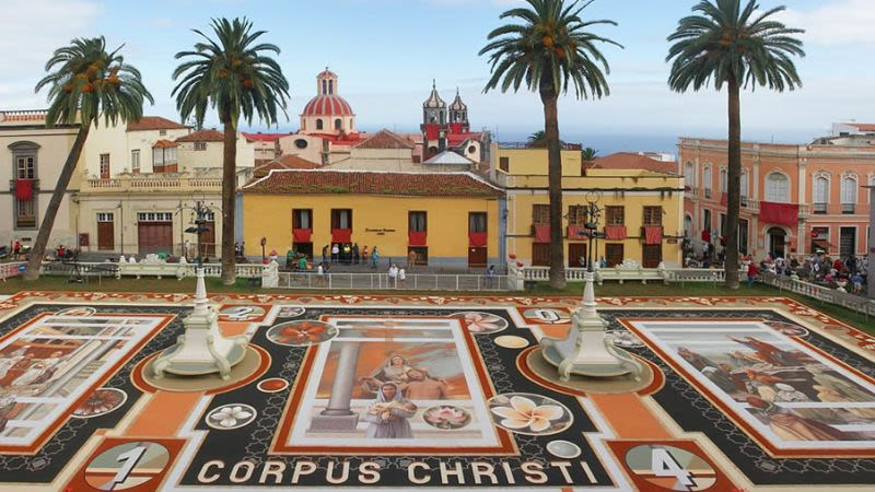 Corpus christi tenerife