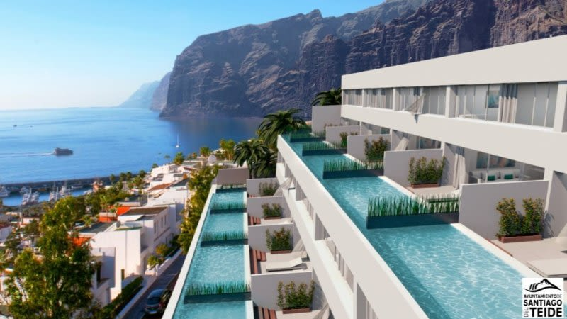 los gigantes new luxury apartments tenerife aquasuites
