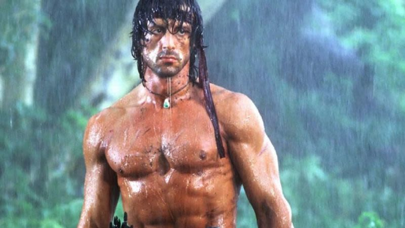 Rambo v filmed tenerife