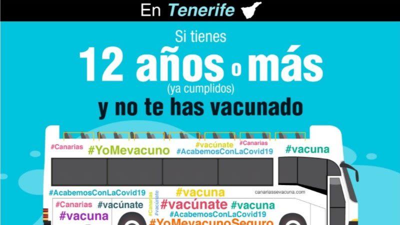 vaccination bus tenerife mobile unit