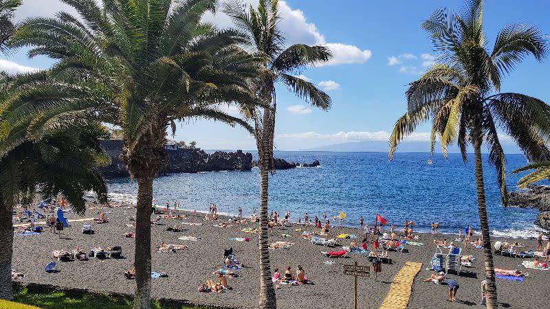 playa la arena tenerife puerto santiago