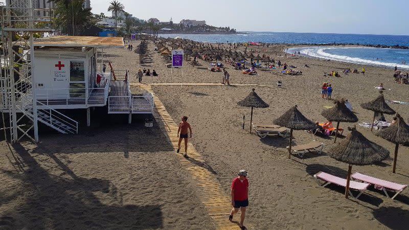 playa troya tenerife