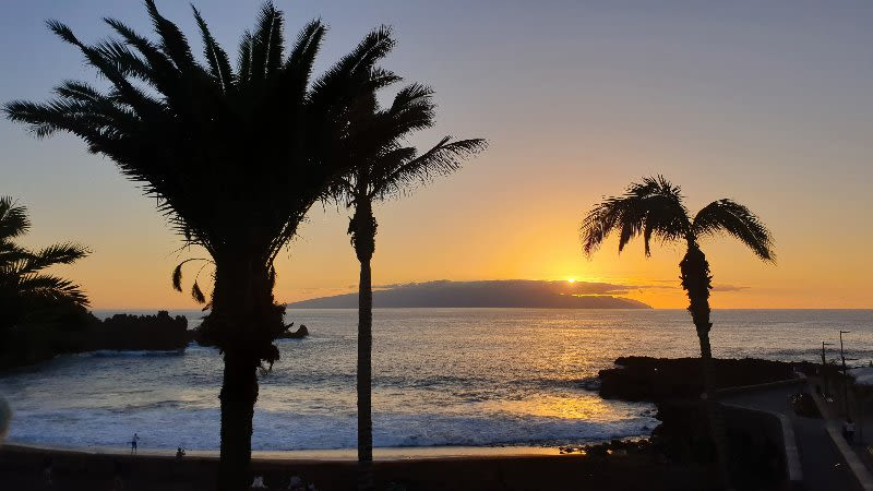 best sunset tenerife