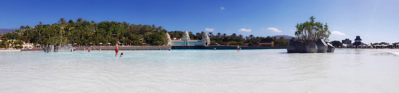 siam park in january