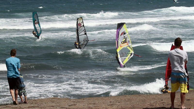 wind in tenerife