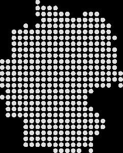 German desk map